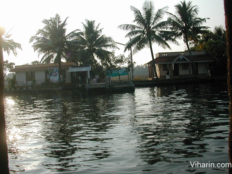 Viharin.com- Alleppey water taxi terminus