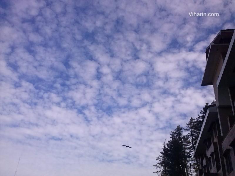 Viharin.com- Beautiful sky from Royal Himalayan Club, Naldehra