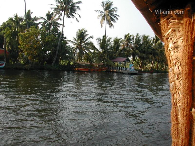Viharin.com- Lake at Alleppey