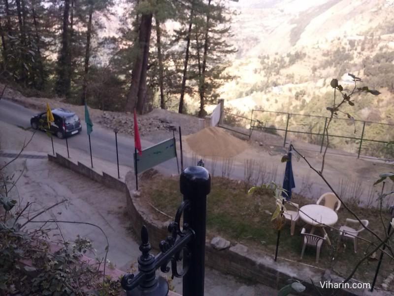 Viharin.com- Valley view from Royal  Himalayan Club, Naldehra