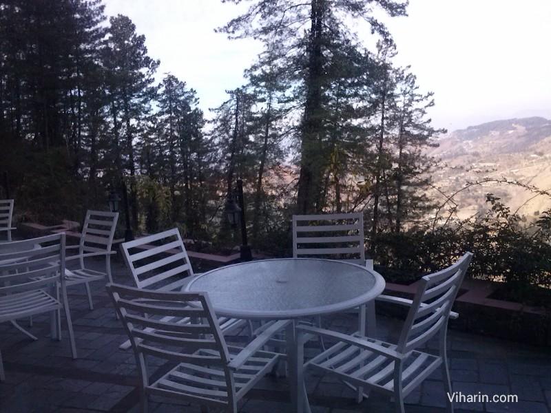 Viharin.com- sit outs at Royal Himalayan Club, Naldehra