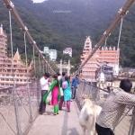 Viharin.com- View at Lakshman Jhoola