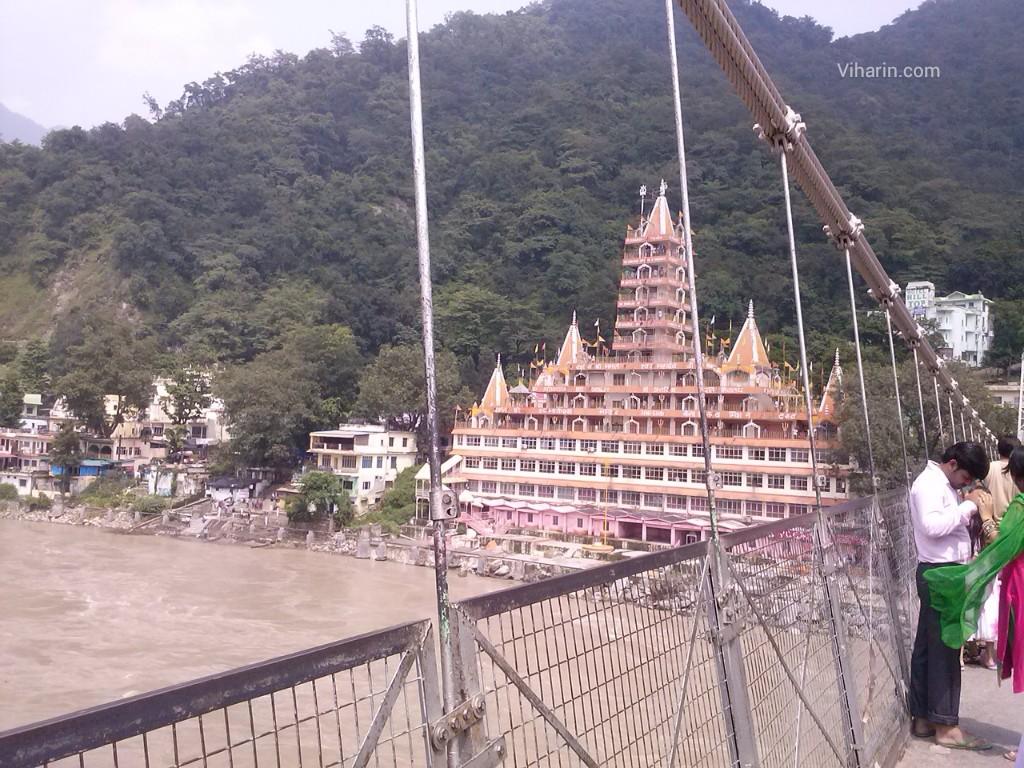 Viharin.com- View from Lakshman Jhoola