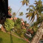Garden at Cocobay resort, Kumarakom, Kerala- India
