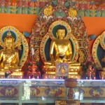 Viharin.com- Golden idols in the temple