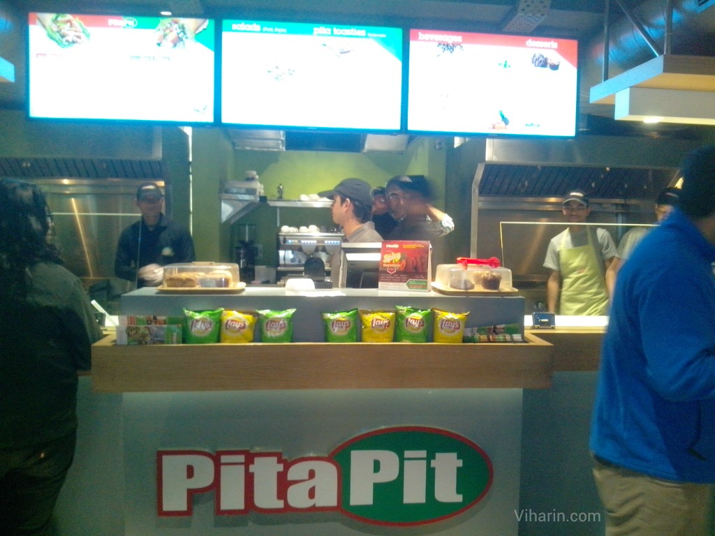 Review of Canadian quick service restaurant chain- Pita Pit