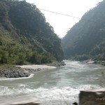 Viharin.com- River and mountains creating a scenic view