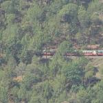 Viharin.com- Toy train passing through hills