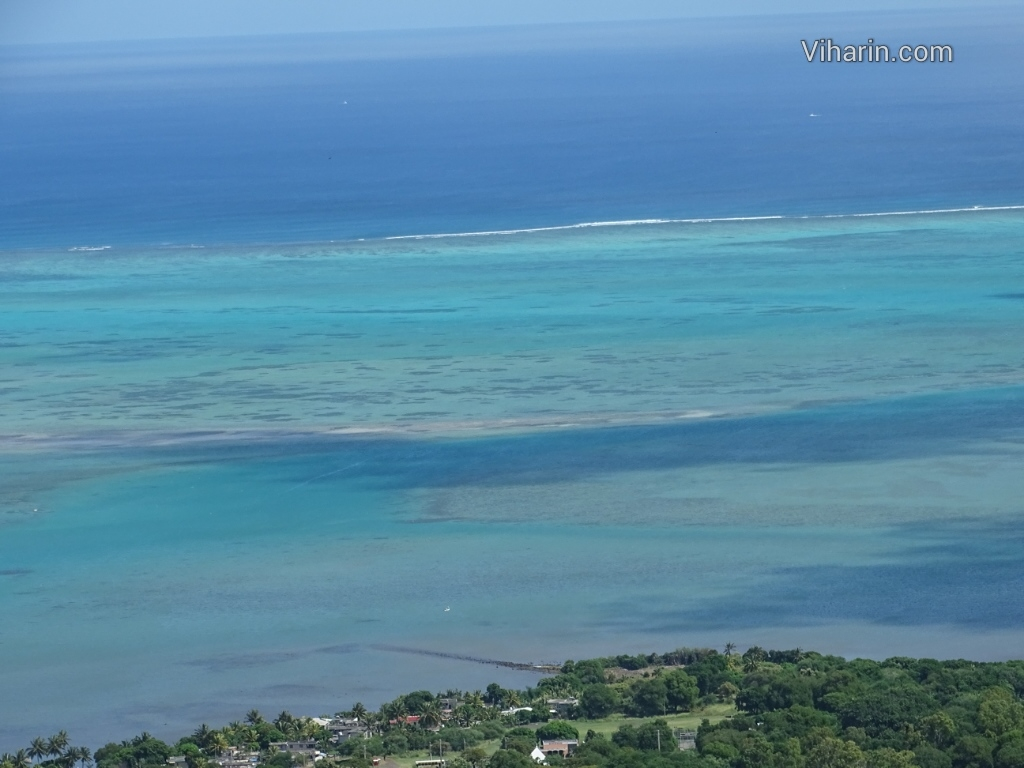 Viharin.com- Bluish green waters of Indian Ocean