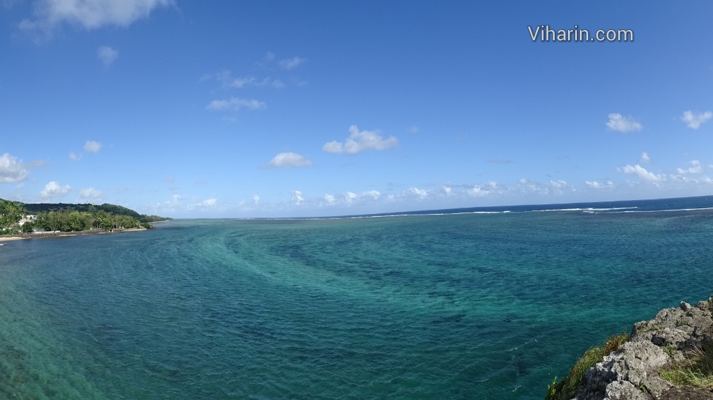 Viharin.com- Contours in sea as seen from Maconde view point