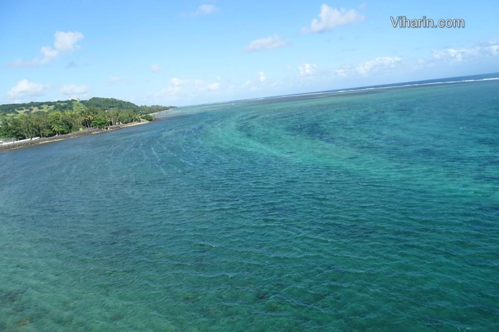 Viharin.com- Greenish contours in Indian Ocean
