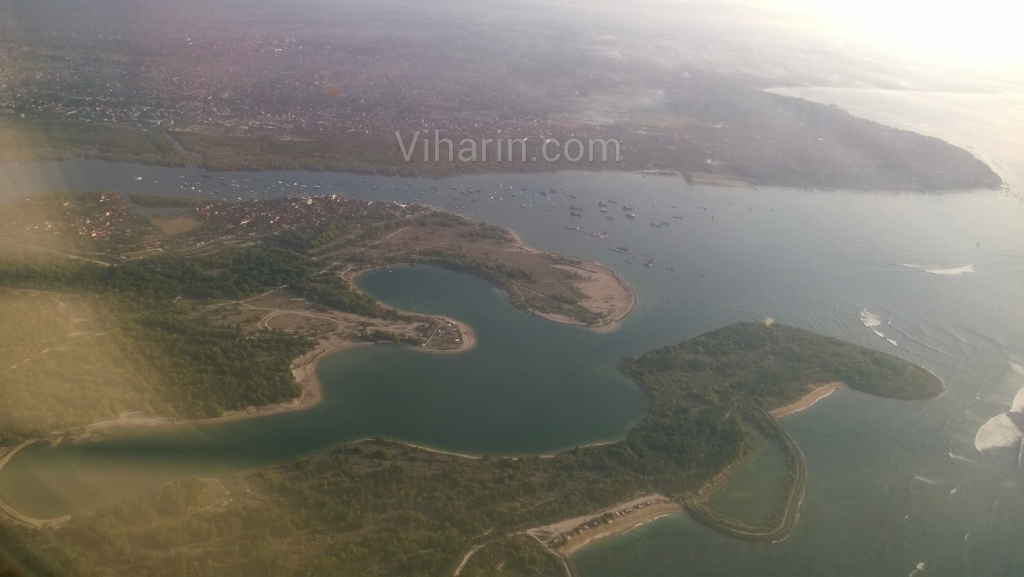 Viharin.com- Aerial view as seen from Malaysian Airlines
