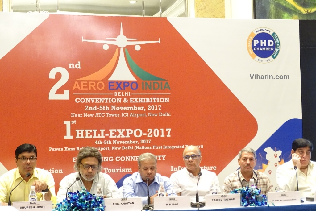 Viharin.com- Aero and Heli Expo November 2017 announcement