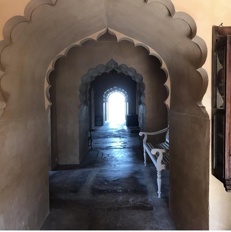 Symmetrical corridor