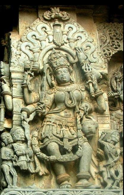 Chamunda Devi temple amongst temples enroute Ludhiana to McLeod Ganj