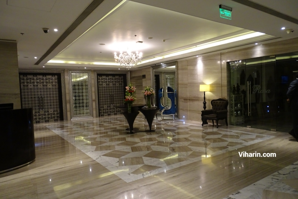 Lobby at Hyatt Regency Ludhiana