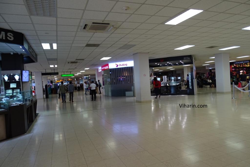 Sri Lankan Airport