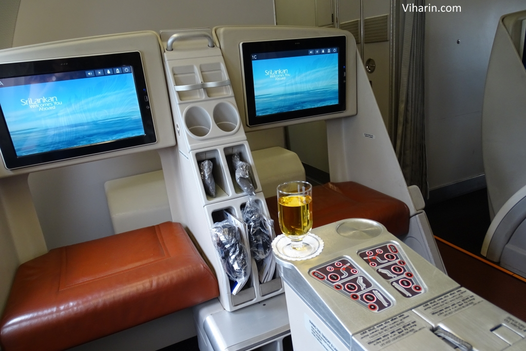 Viharin.com- Business Class of Srilankan Airlines from Srilanka to Male