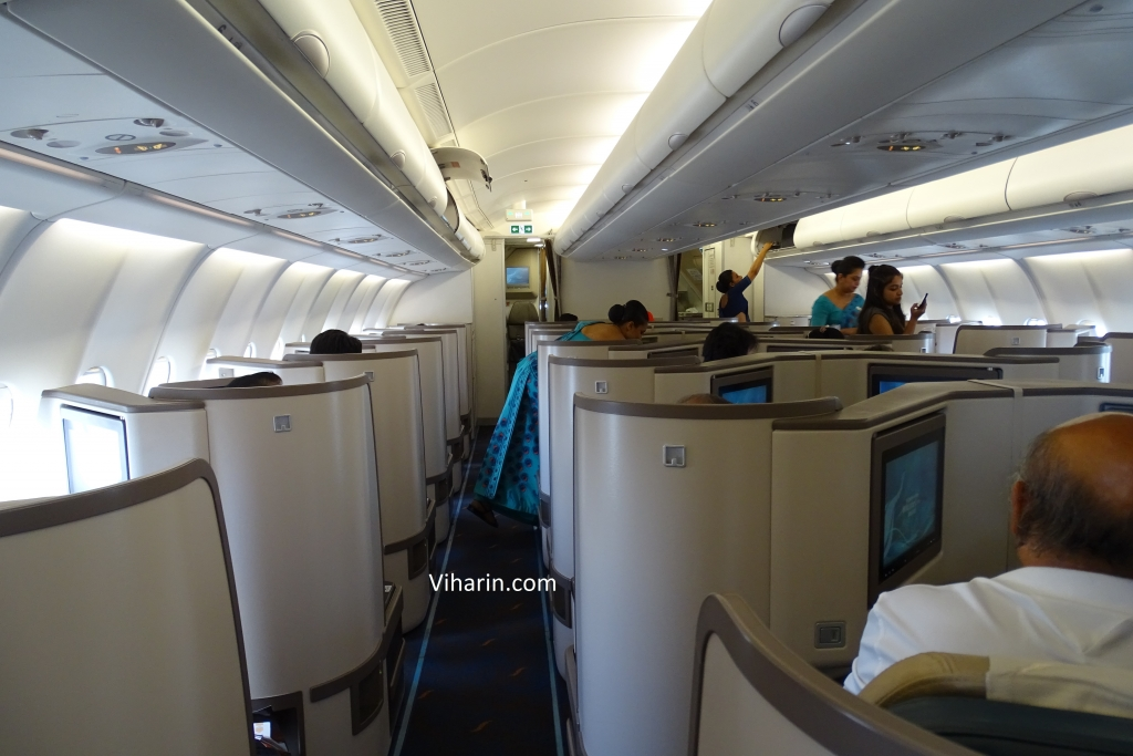 SriLankan Airlines Business Class from Male to Sri Lanka
