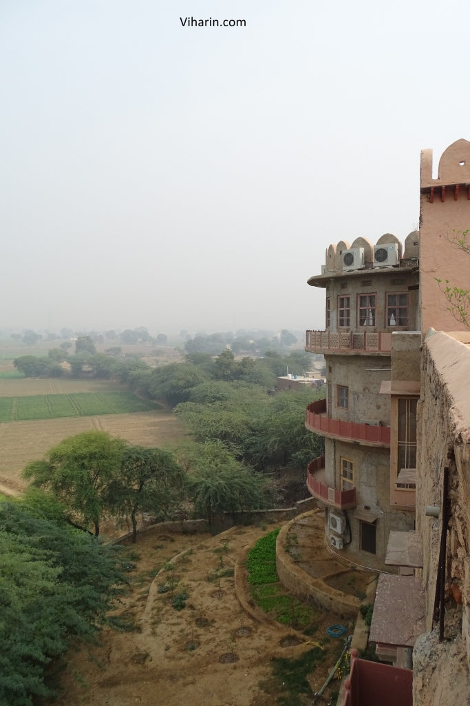 Side view of Hill Fort Kesroli