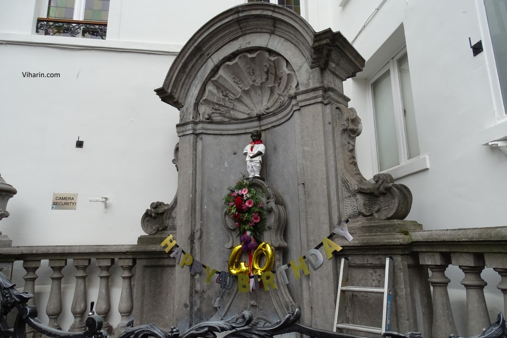 40th Birthday of Mannekan Pis