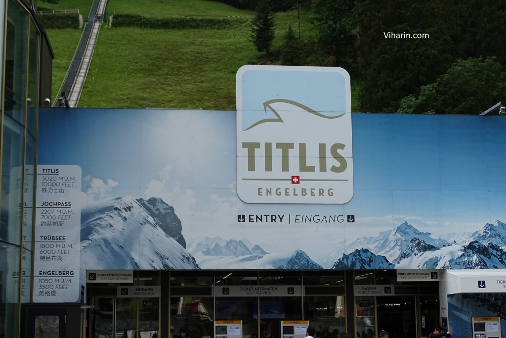 Entry to Mt. Titlis