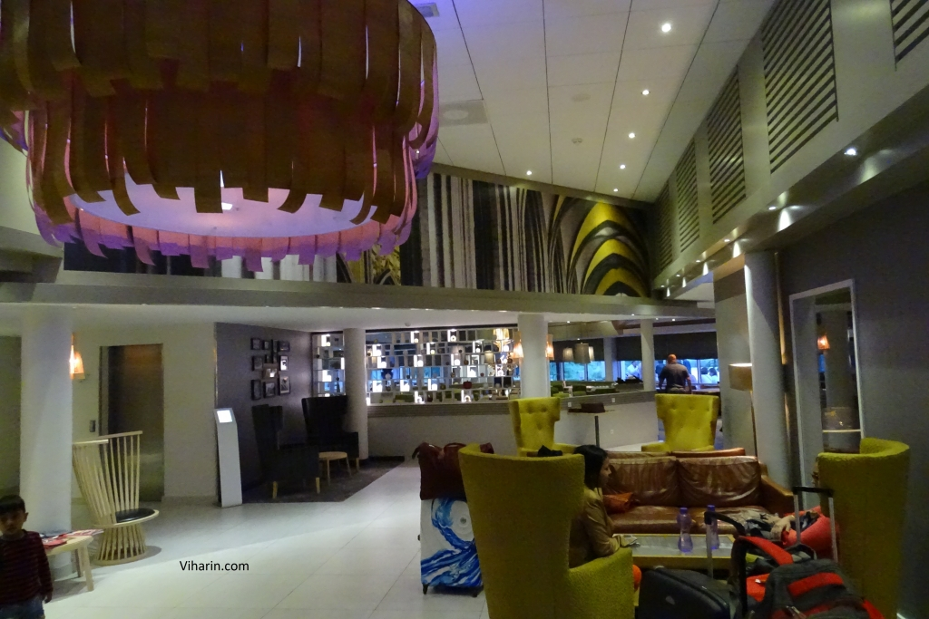 Restaurant cum lobby at Movenpick