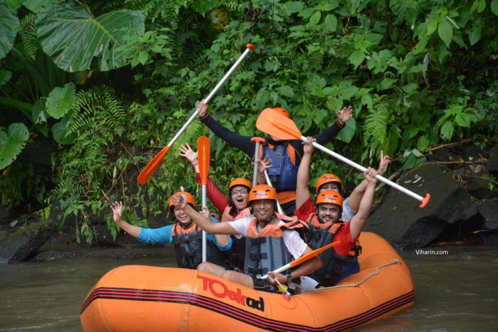 River Rafting at Ayung River