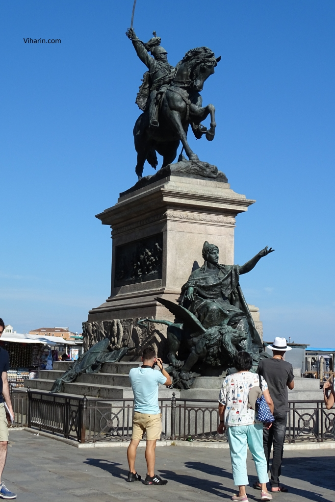 Victory Statue in St. Mark Square