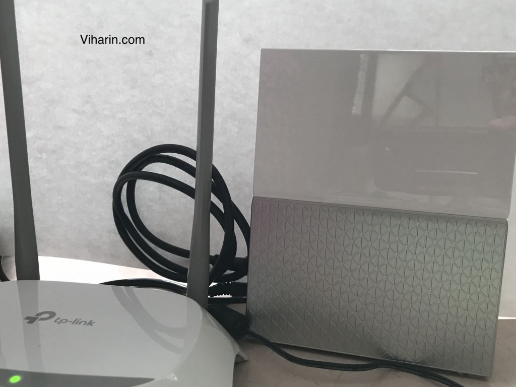 Router and My CLoud Home attached