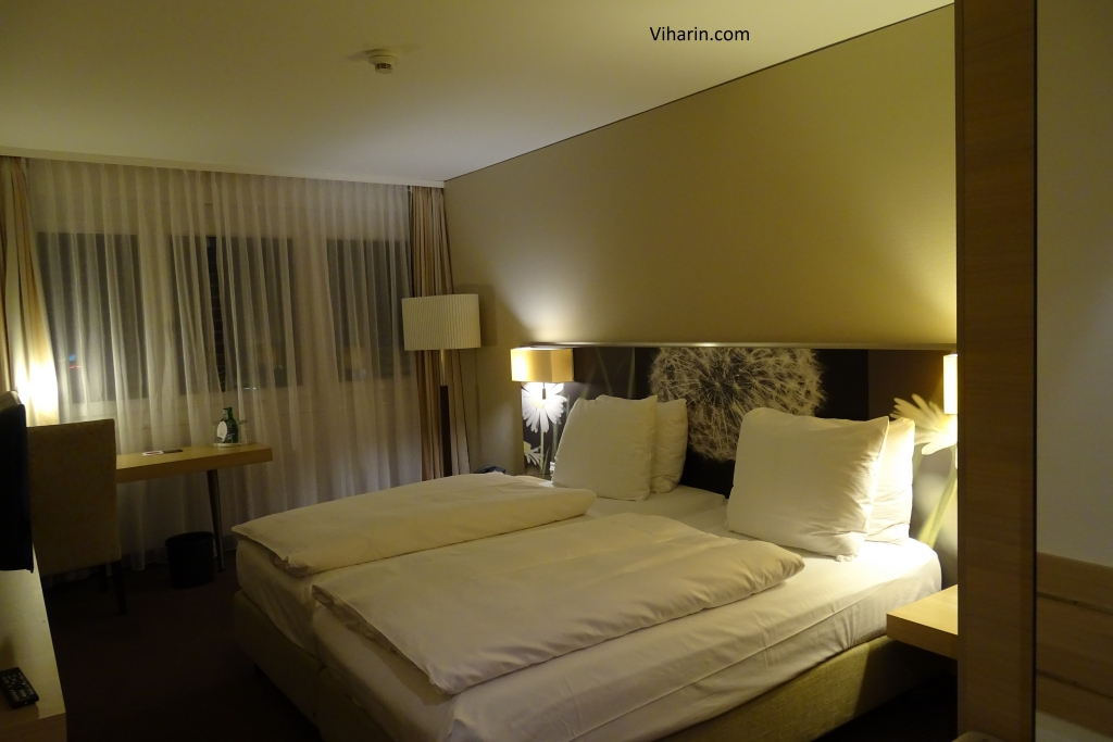 My room at H+ Hotel