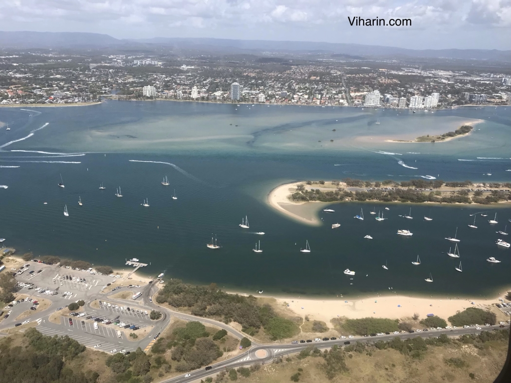 Helicopter Ride at Gold Coast