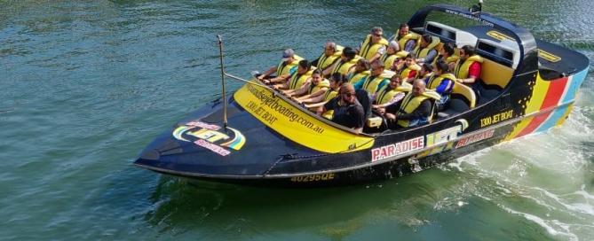 Jet Boat Ride at Gold Coast